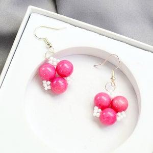 The Final Look of the Sweet Earrings: