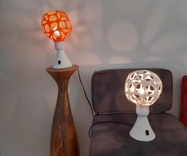 70s Style Table Lamp