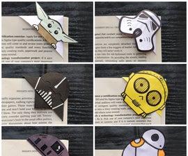 STAR WARS Corner Bookmarks