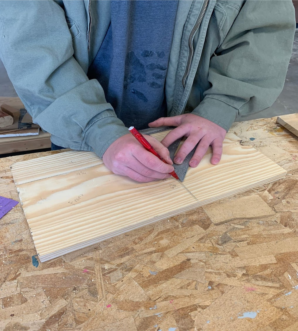 Measure Out Wood for Cutting