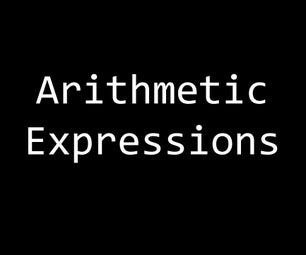 C PRPGRAMMING FOR BEGINNERS: Arithmetic Expressions