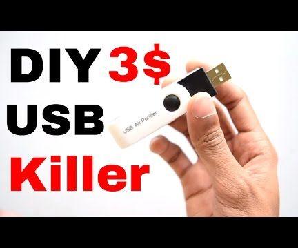 How To Make USB KIler + Tester In 3 $ !