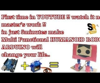 A MULTI FUNCTIONAL ARDUINO ROBOT