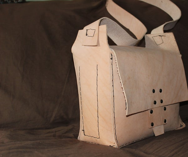 How to Make a Leather Possibles Bag for Your Modern Muzzle Loader