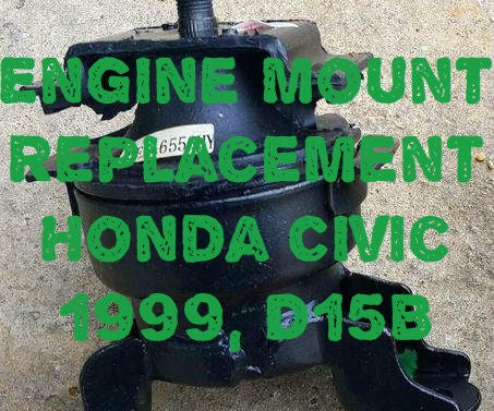 Replacing an Engine Mount.
