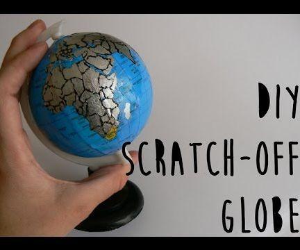 Scratch-Off Globe