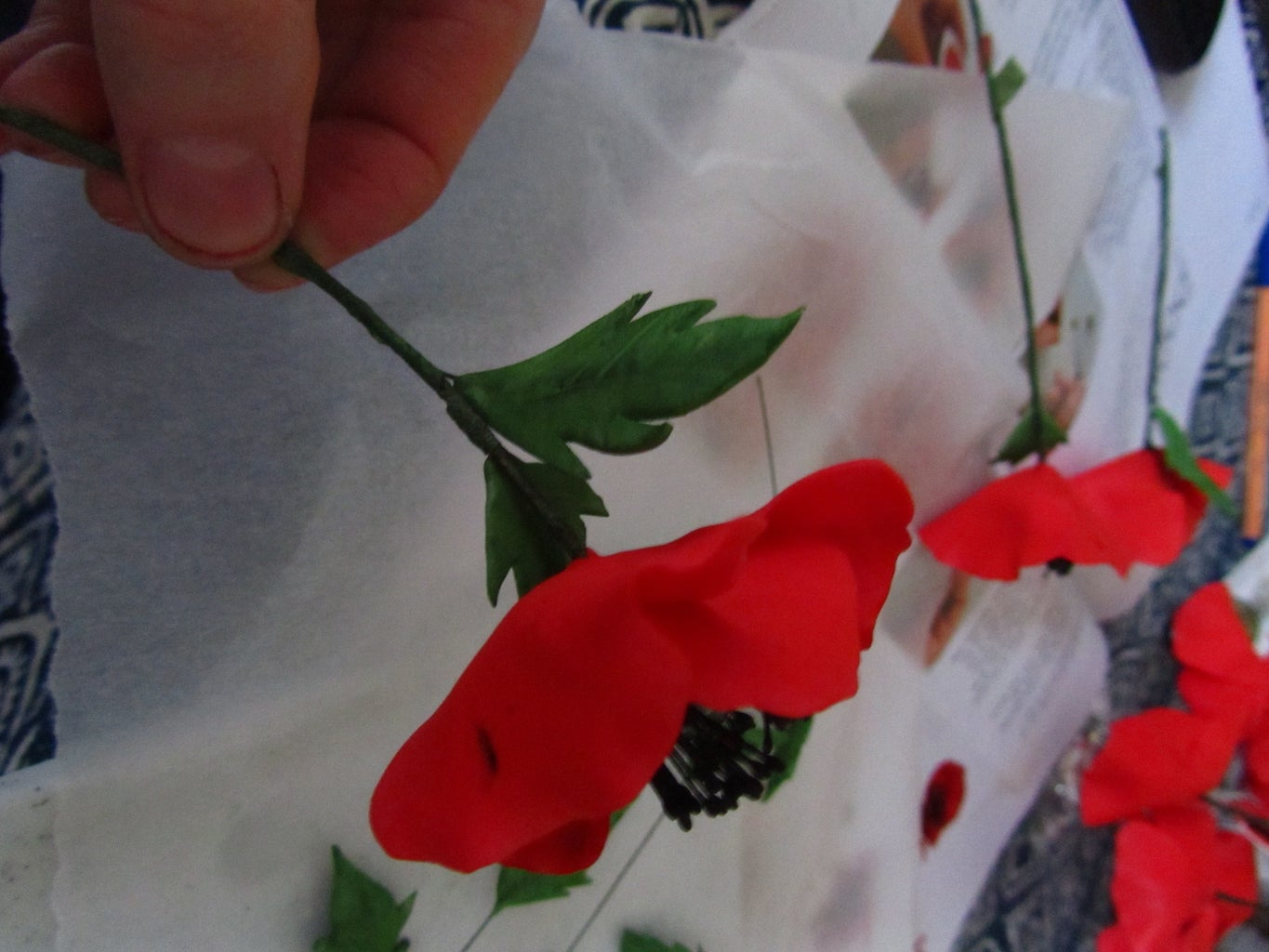 Making Poppies: Assembly