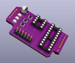 Arduino Attiny Programming Shield - SMD
