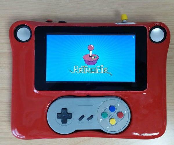 Raspberry Pi Tablet RetroGamer