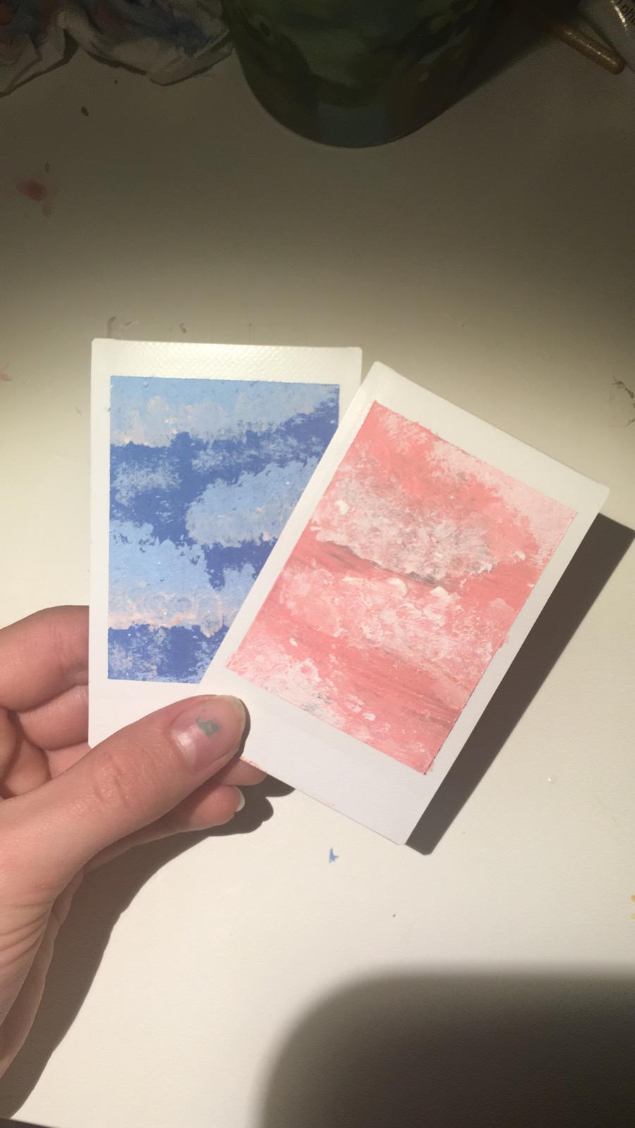 How to Paint on an Instax Photo