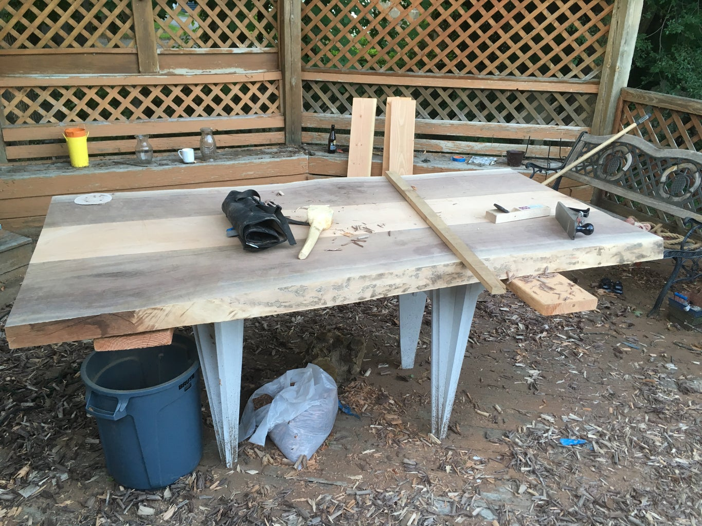Flattening the Table Top
