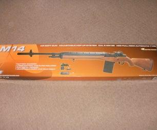 My Airsoft M14. (update)
