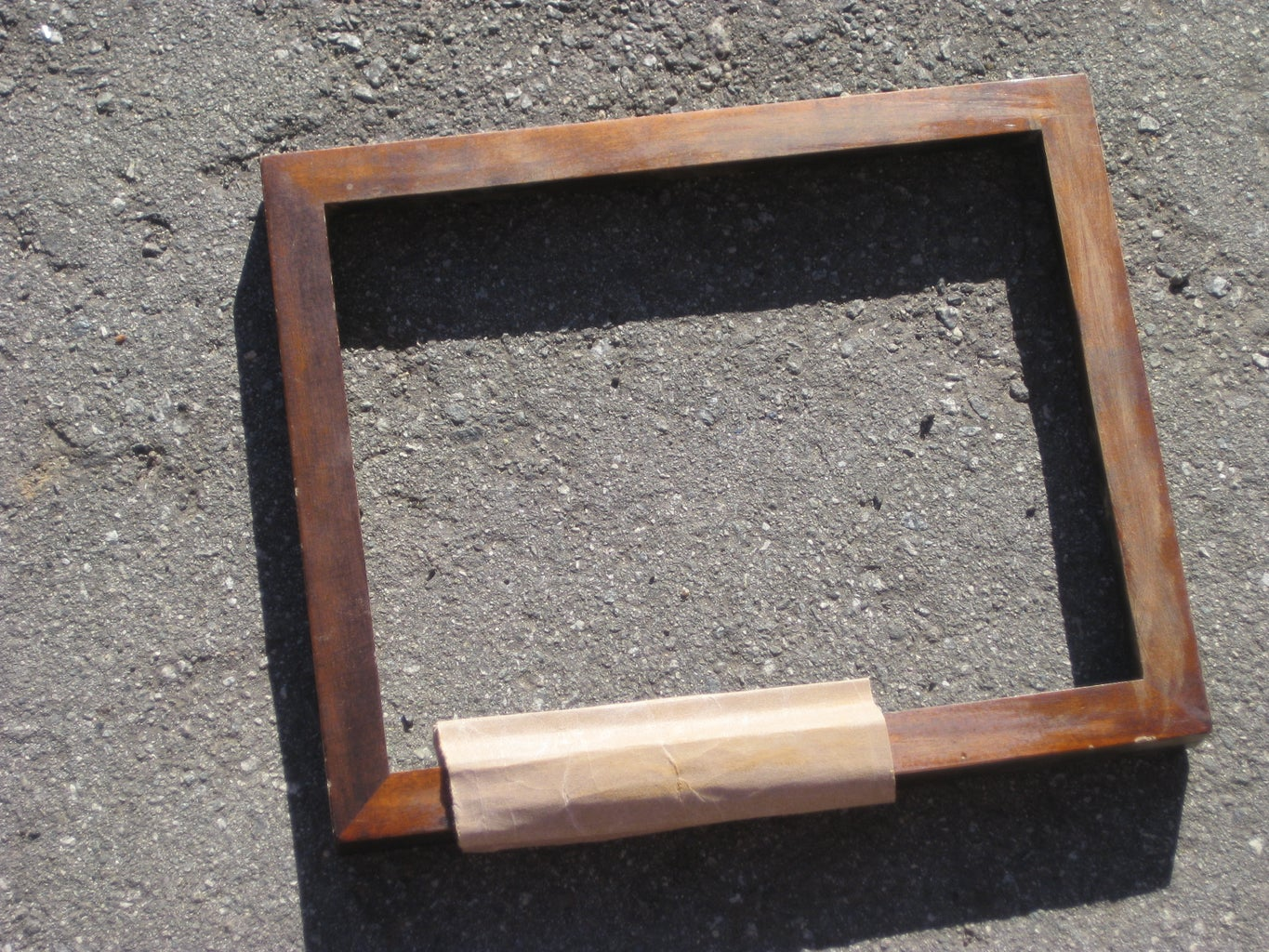 PAINTING THE PICTURE FRAME
