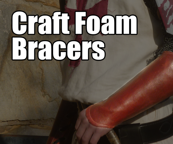 Craft Foam for Leather Bracers