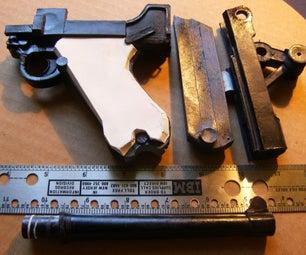Paper Luger P08 Pistol (Pistole Parabellum 1908)