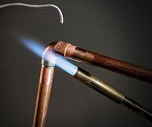 How to Sweat Copper Pipe in 30 Seconds!