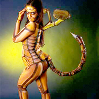 Scorpion FX Makeup