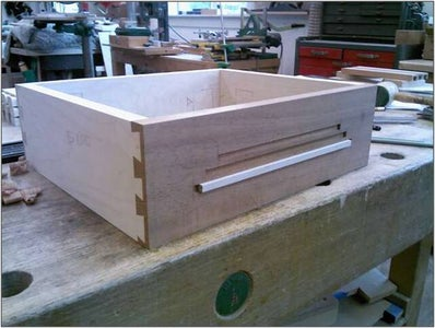 Cutting the Blind Dovetails