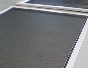 Separate the Two Frames and Remove Mesh Screen