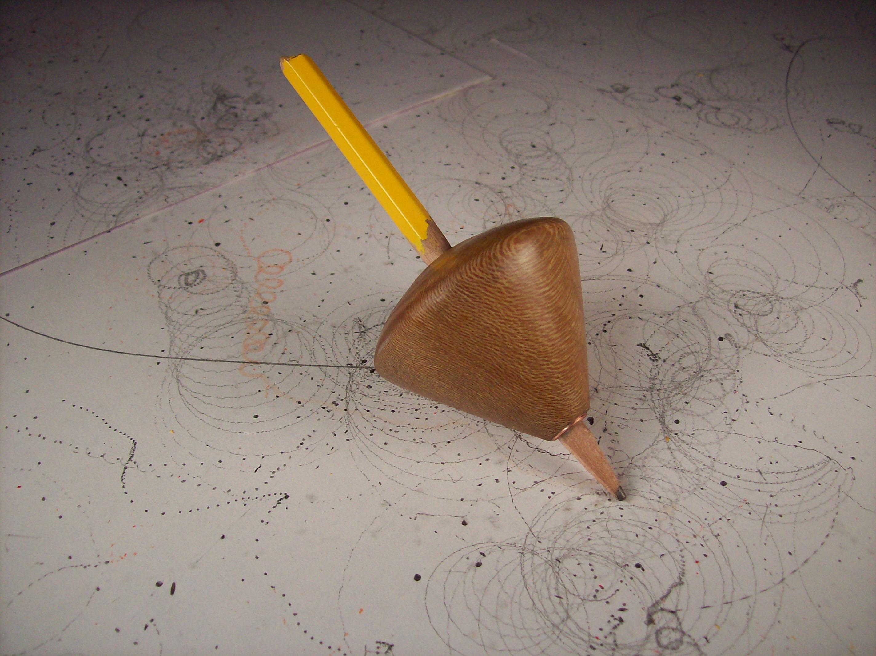 Pencil Spin Top