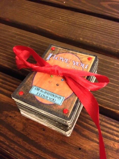 Custom Magic the Gathering Valentine's Deck