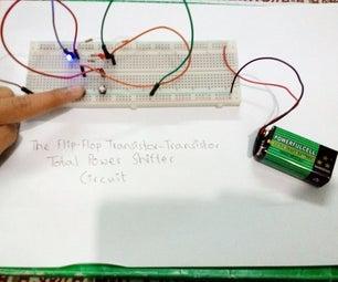 Flip-Flop Circuit (Transistor-Transistor SR Latch Circuit)