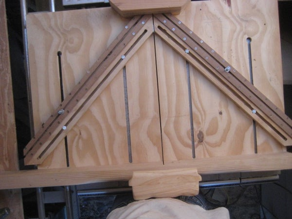 TABLE SAW SLED AND ADJUSTABLE ARMS