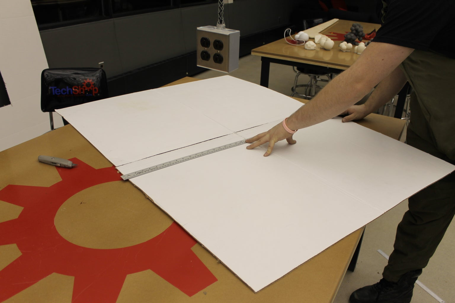 Cutting and Marking the Board