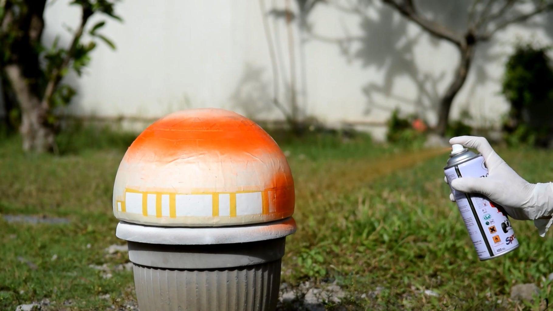 Paint BB8's Head