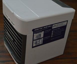 Artic Air Personal Cooler, Silent Fan Hack