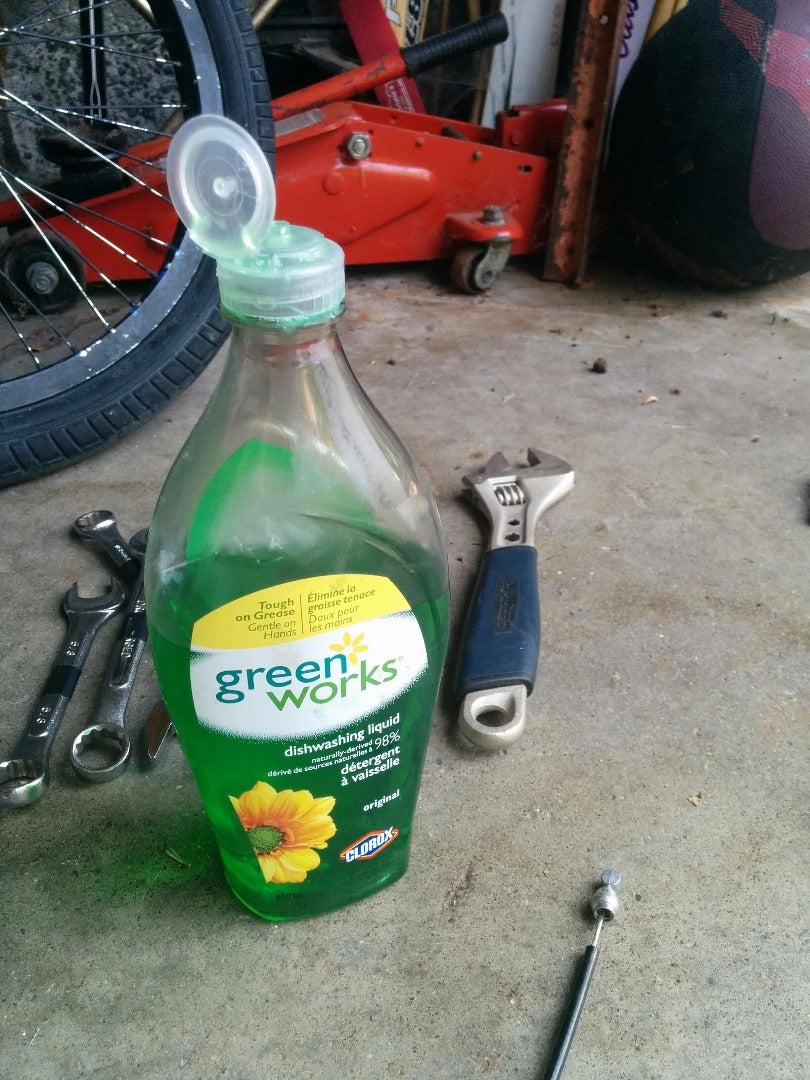 Removing the Handle Bar Grips