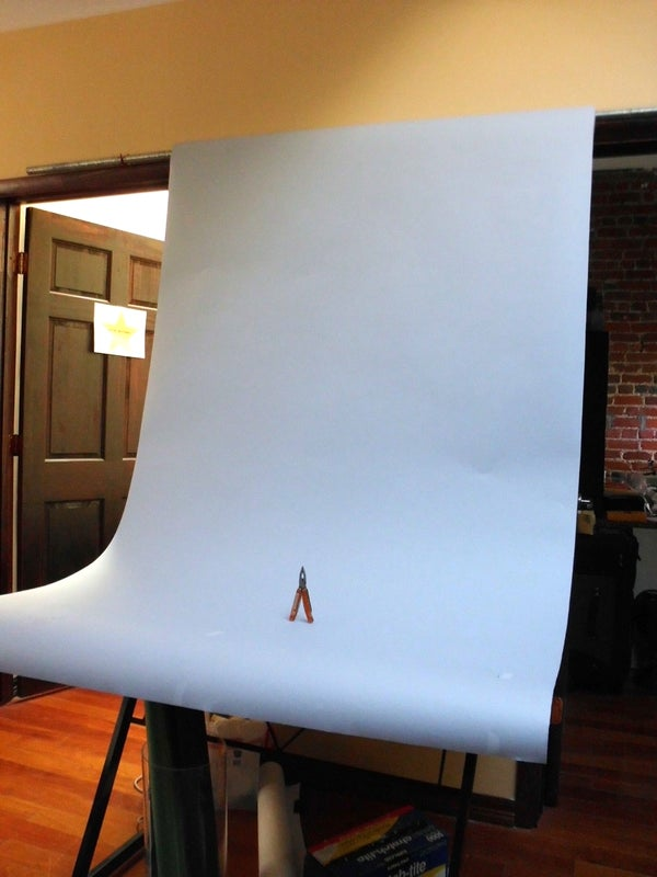 Easy Photography Set Up