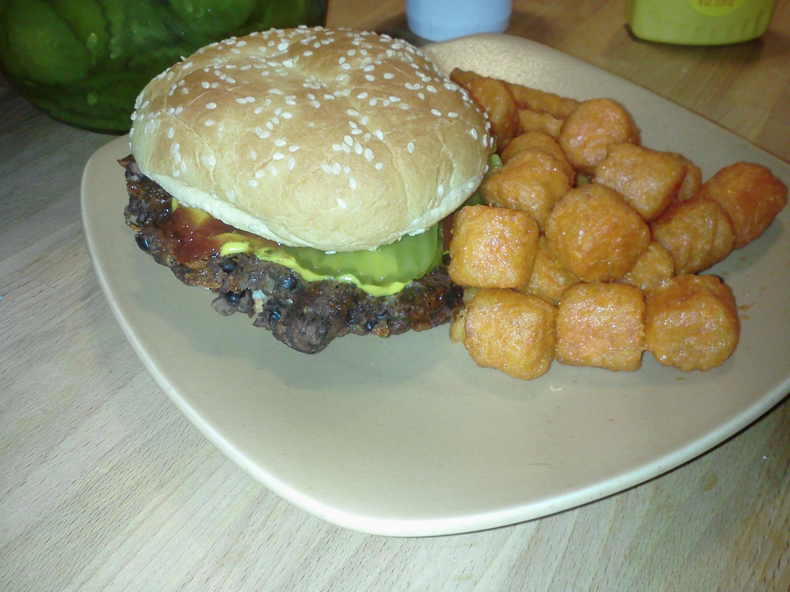 Best Black Bean Burger Known to Man!!!