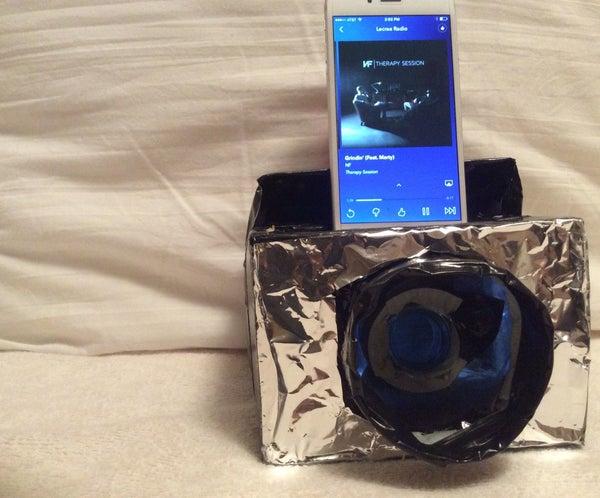 Cardboard Mini Speaker