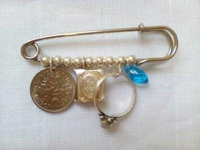 Bridal Pin: Something Old, Something New...