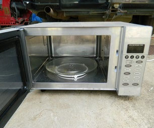 Getting Useful Bits From a Microwave Oven #1