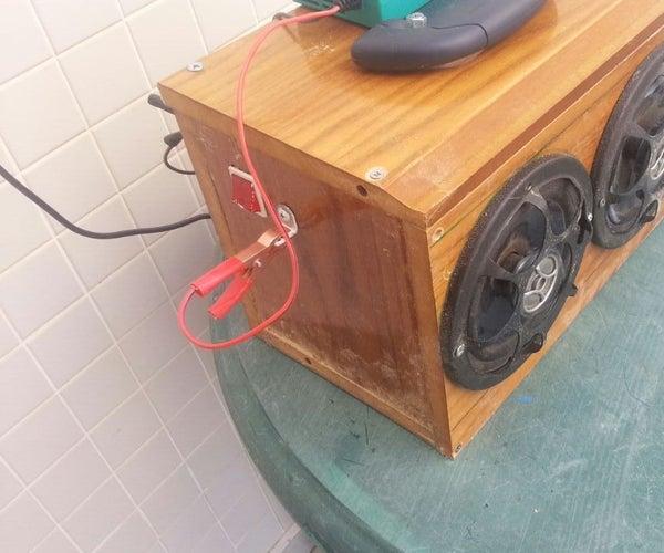 Boombox 8 12v Internal Battery