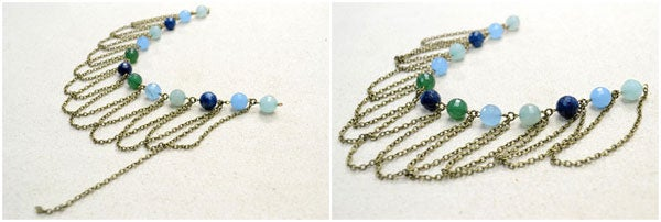 Decide the Beaded Pattern and Add the Chain Segments