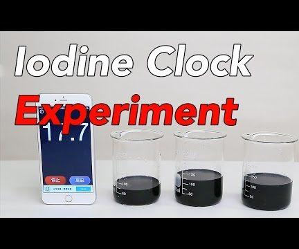 Iodine Clock Reaction