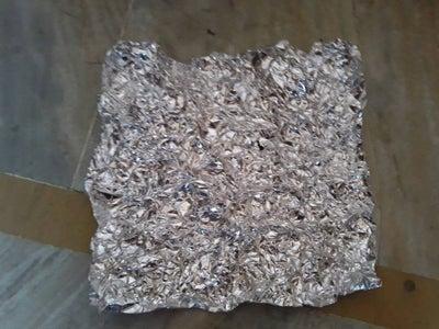 Preparing the Alumunium Foil
