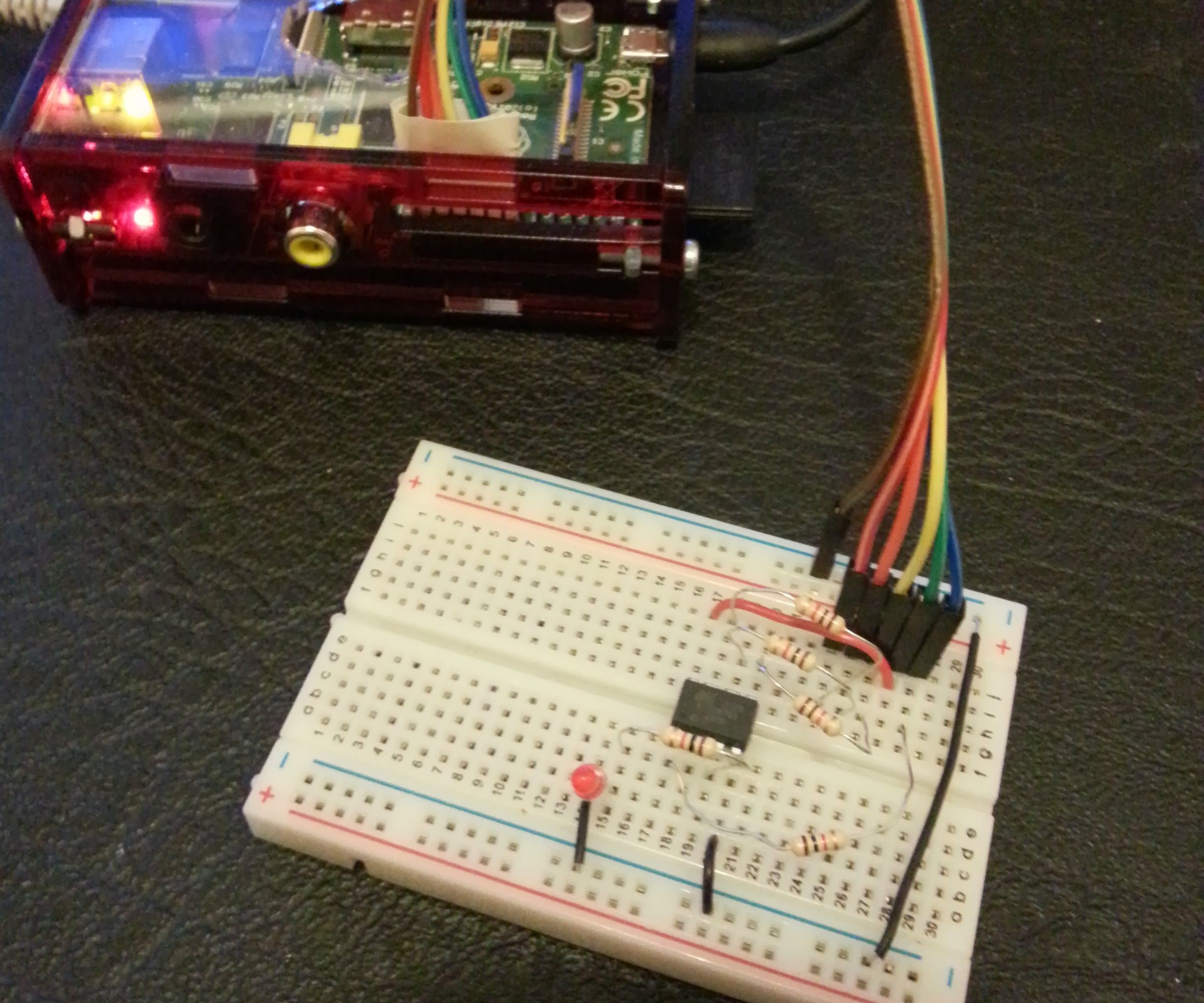 Programming the ATtiny85 from Raspberry Pi