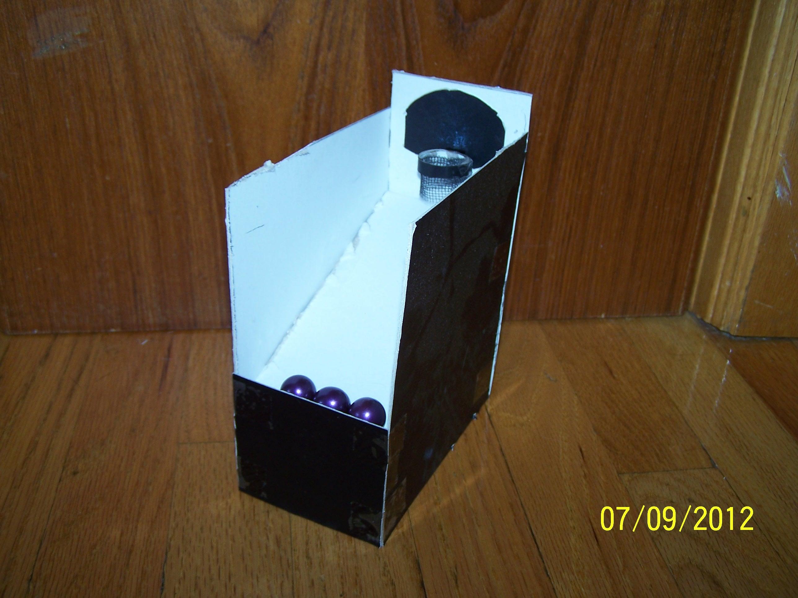 Cardboard Mini Arcade Basketball