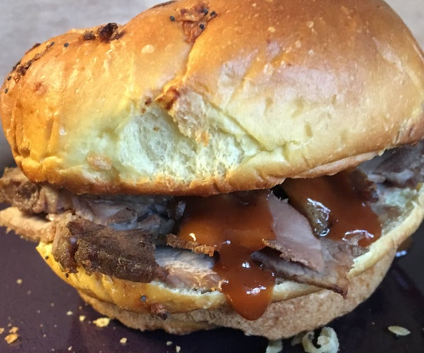 New England Style Roast Beef Sandwiches