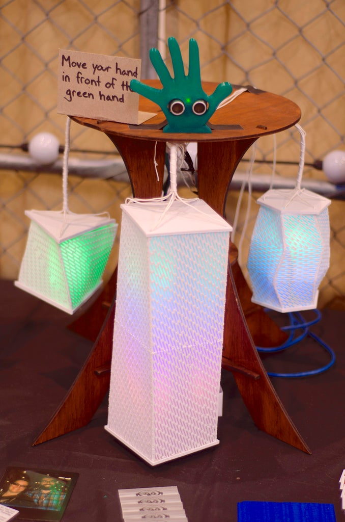 Maker Faire and Proximity Sensor