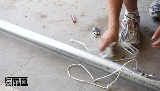 Making the Flag Pole: Rope