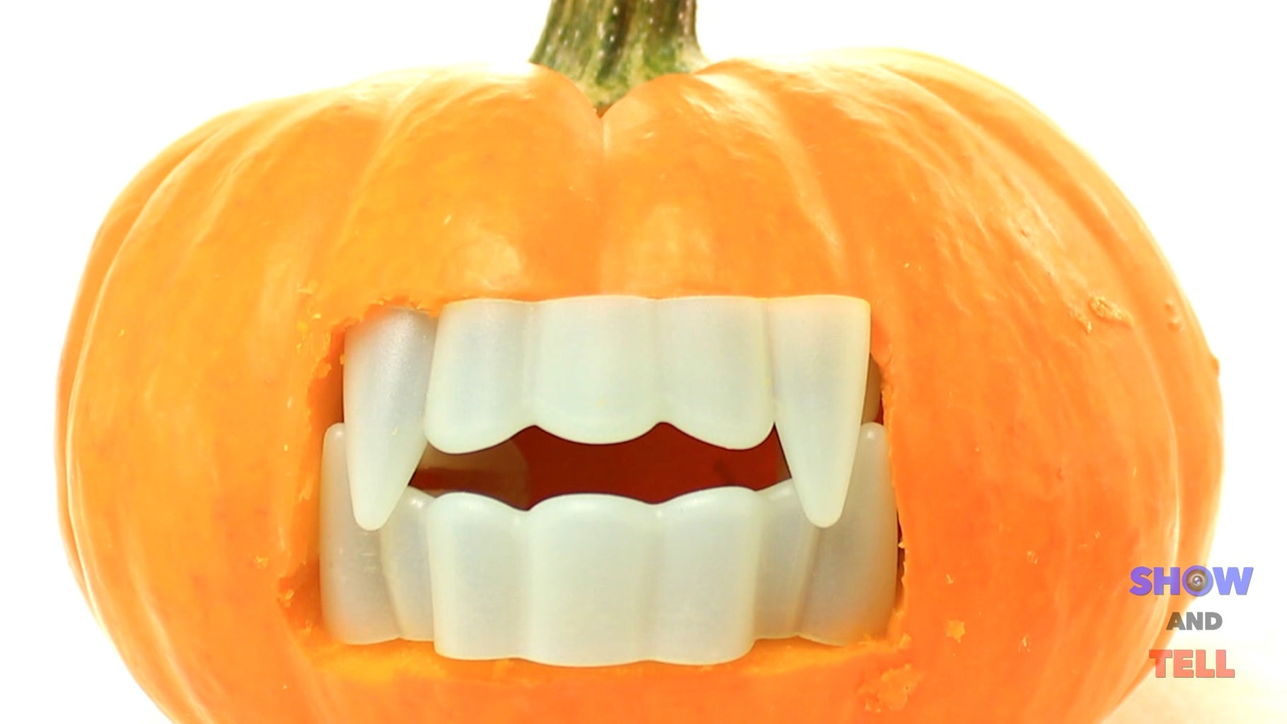 Turn Your Pumpkin Into a Vampire