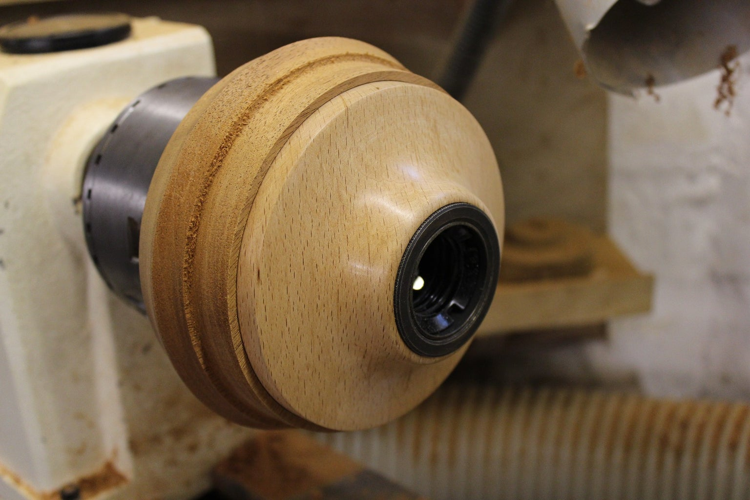 Mount the Mahogany and Work Some Woodturning Magic