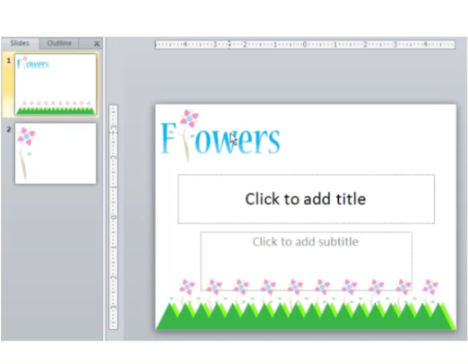 Creating a PowerPoint Slide Template