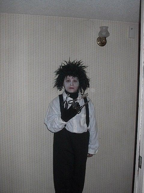 Edward Scisorhand's Costume