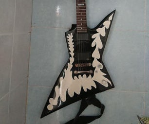 Paint Your Guitar Easy!